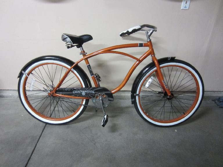 The Huffy assembled. (July 12, 2012)