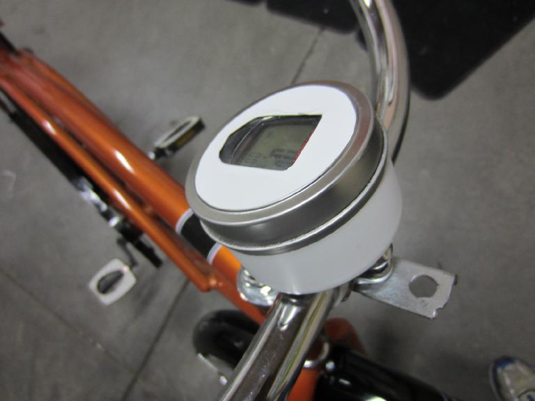 The speedometer, assembled. (August 22, 2012)