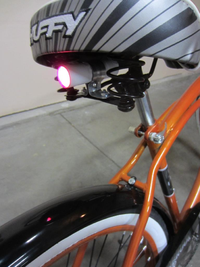 More detail of the taillight. (August 22, 2012)