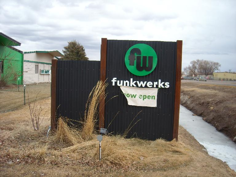 The new Funkwerks had a great flagship beer called Saison.