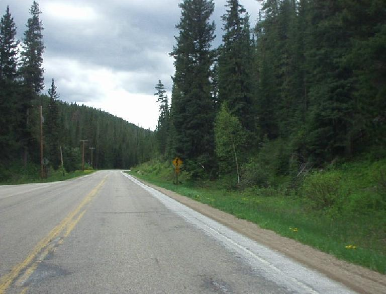 It featured lots of sweeping curves through the Black Hills of South Dakota.