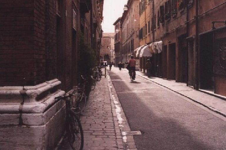 Town of Ferrara. (October 25, 1999)