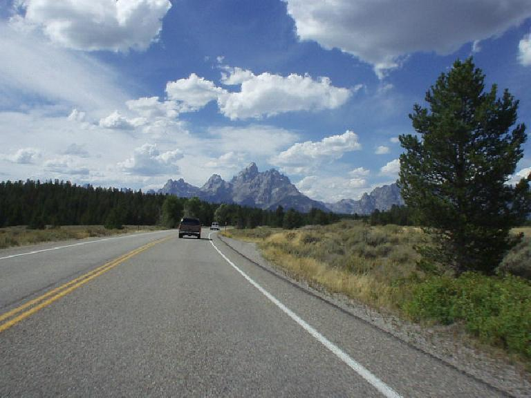 Jackson, Wyoming, is a pricey tourist/retiree town just south of the Grand Tetons and is situated in a county where 97% of the land is protected.