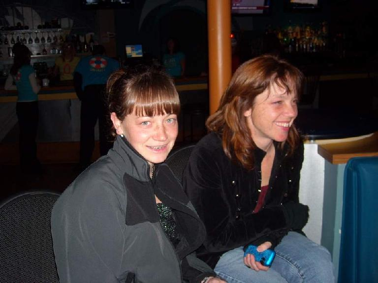 Ryan and Tanya at Bondi's.