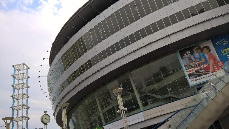 Hanshin Arena Shopping Plaza in Kaohsiung City, Taiwan.