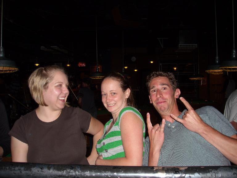 Liberty, Ryan, and Jon.