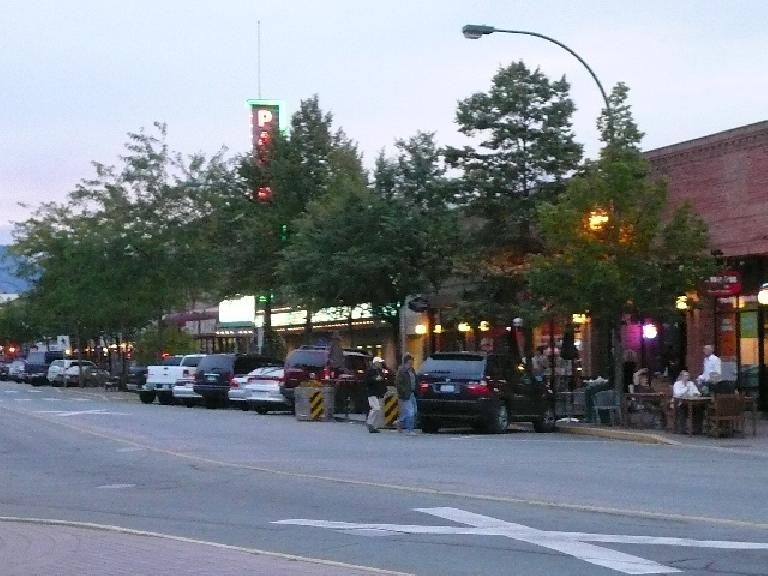 Kelowna had a nice downtown.