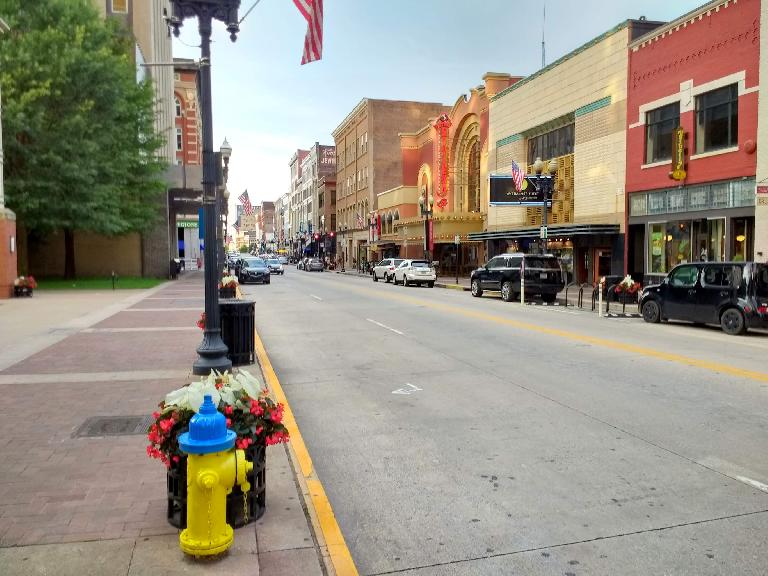 South Gay Street in Knoxville, Tennessee.