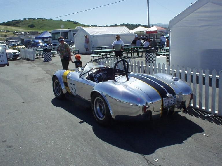 This is a geniune Shelby Cobra race car, not a kit!  As you can see from the plates it's serial number CSX4230.