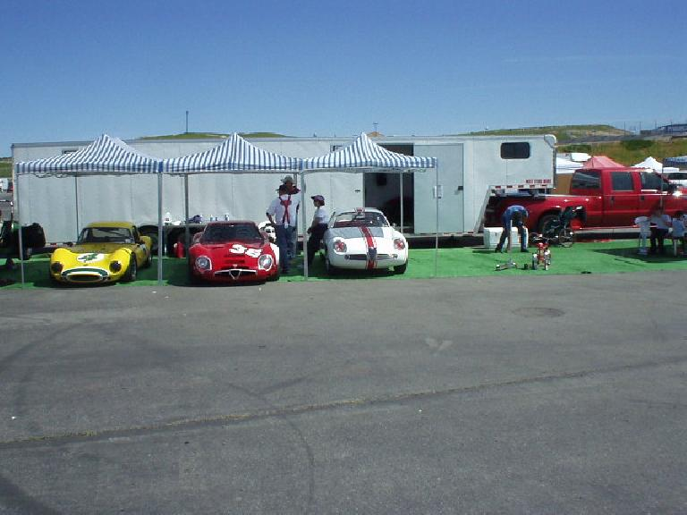 Of course I was also happy to see quite a few Alfa Romeos!