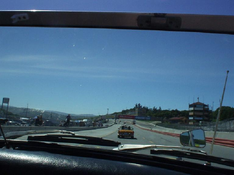 and getting on the legendary Laguna Seca race track!!!