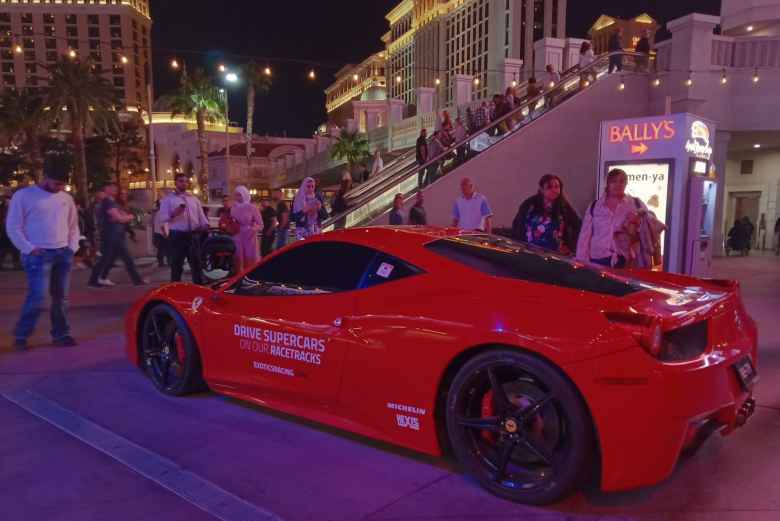 Ferrari 458 Italia rental from exoticsracing.com.