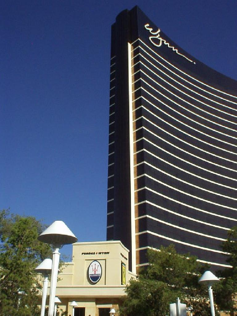 One of the first places on The Strip was The Wynn Hotel.  Can you guess why?