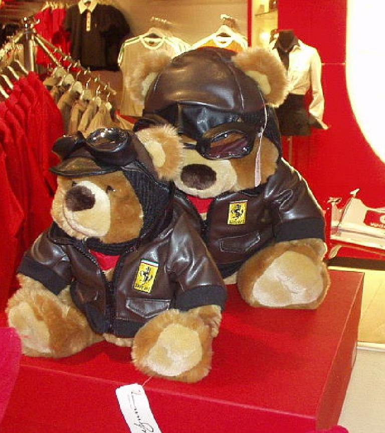 Ferrari bears.