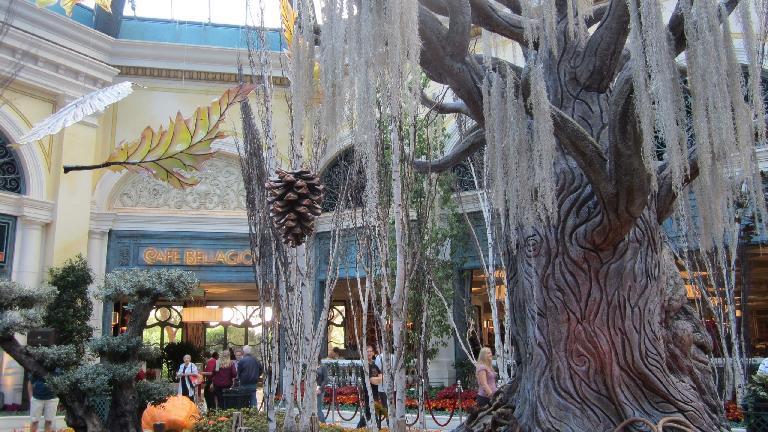 The Bellagio Conservatory & Botanical Gardens. (November 18, 2013)