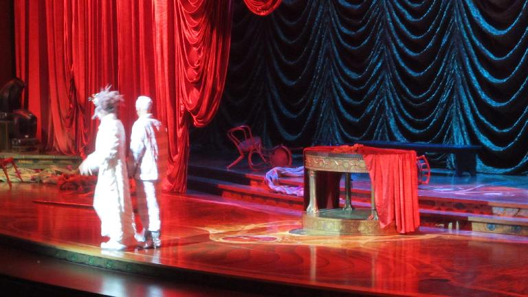 Cirque du Soleil's Zarkana. (November 18, 2013)