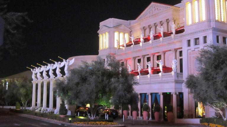Caesar's Palace. (November 19, 2013)