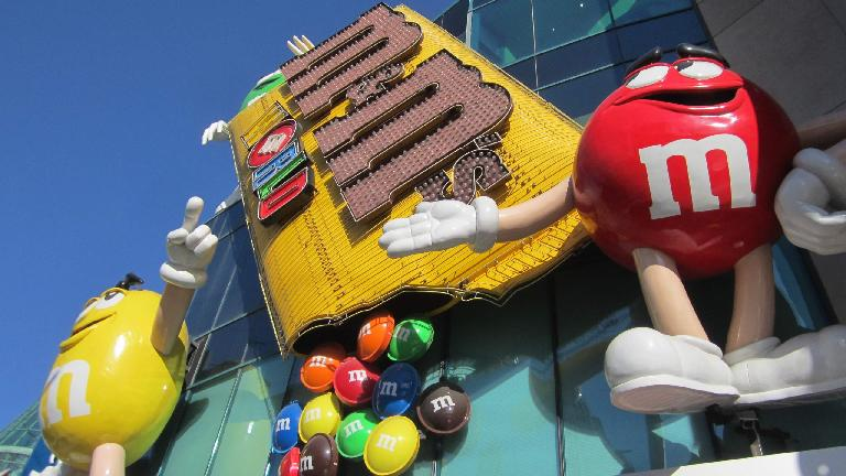 The M&M's Store.