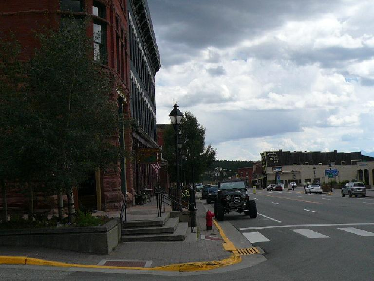 Downtown Leadville felt like it was straight out of a Old Wild West movie.
