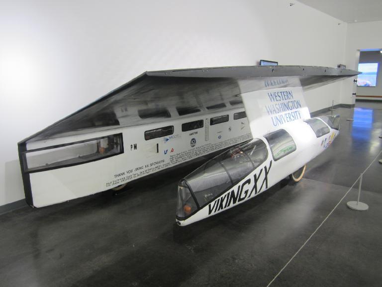 1990 Viking XX Solar Race Car by Western Washington University.