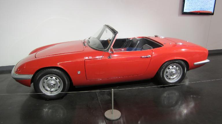 1964 Lotus Elan.