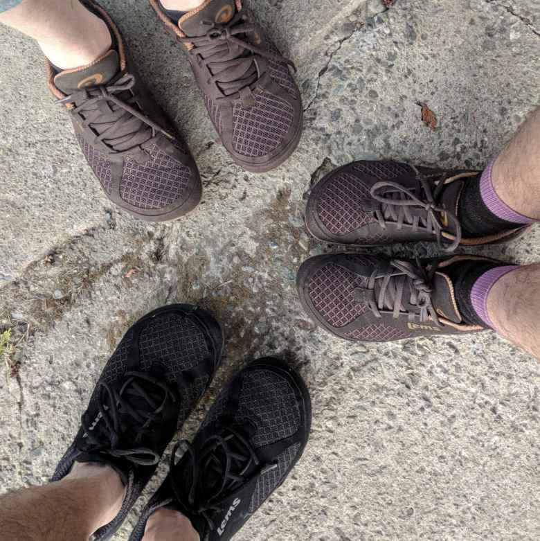 What are the chances of three people wearing Lems Primal 2 shoes at the same time?