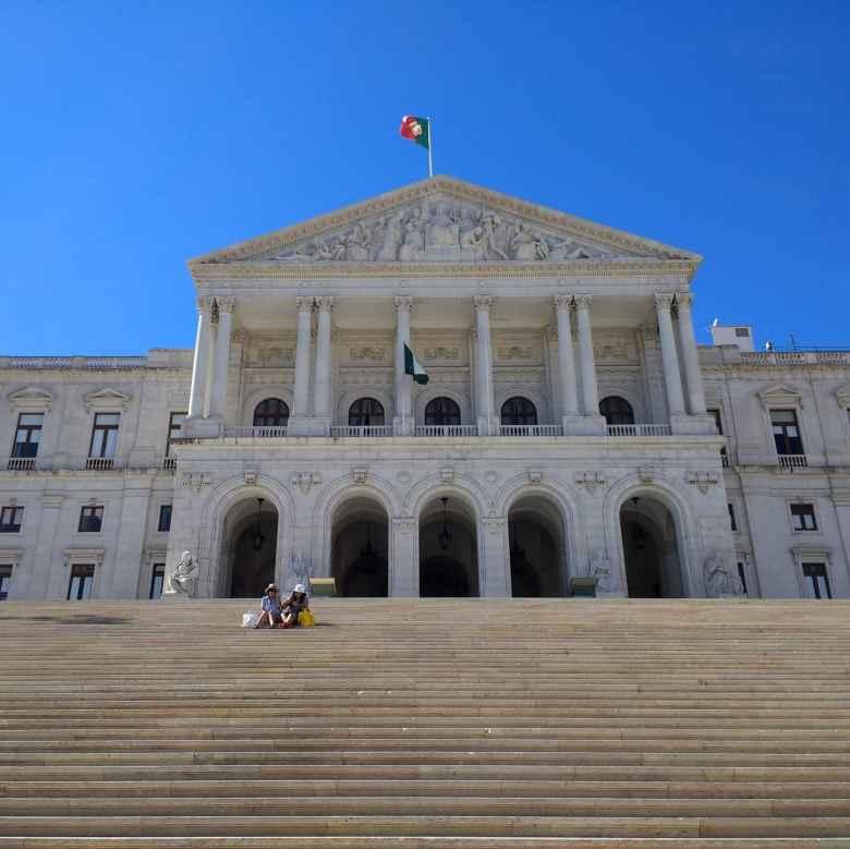 The Palácio de São Bento is where the Assembly of the Republic, the Portuguese parliament, meets.