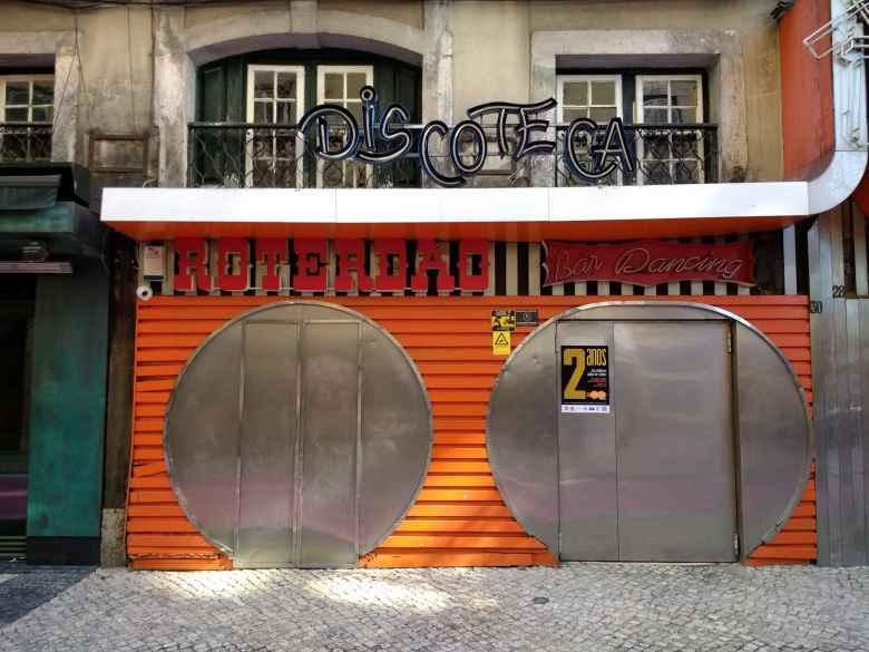 A discoteca on Pink Street.
