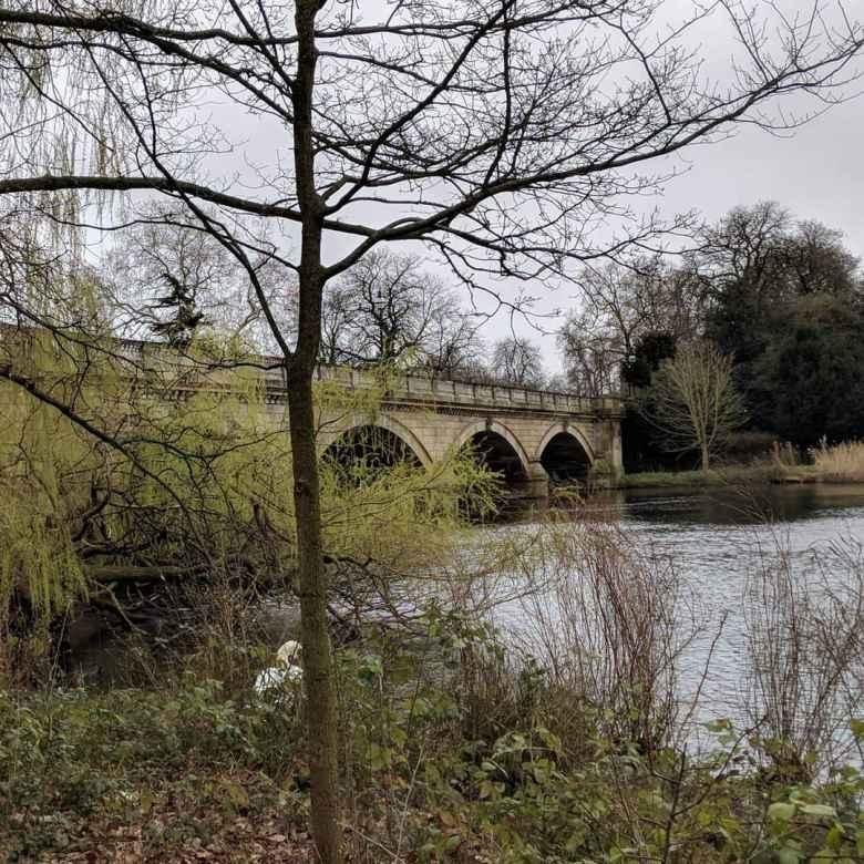 Bridge at Hyde Park.