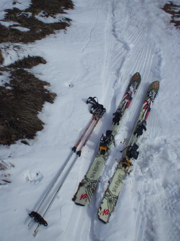Hooray!  Time to ski!