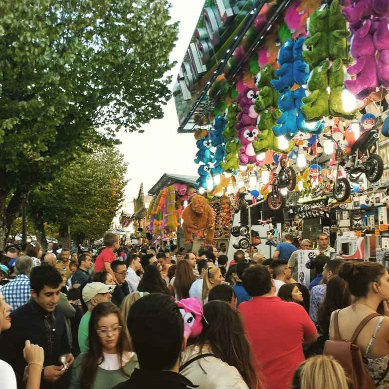 There was a big fiesta in Lugo, Spain when I arrived in order to celebrate its patron saint, San Froilán.