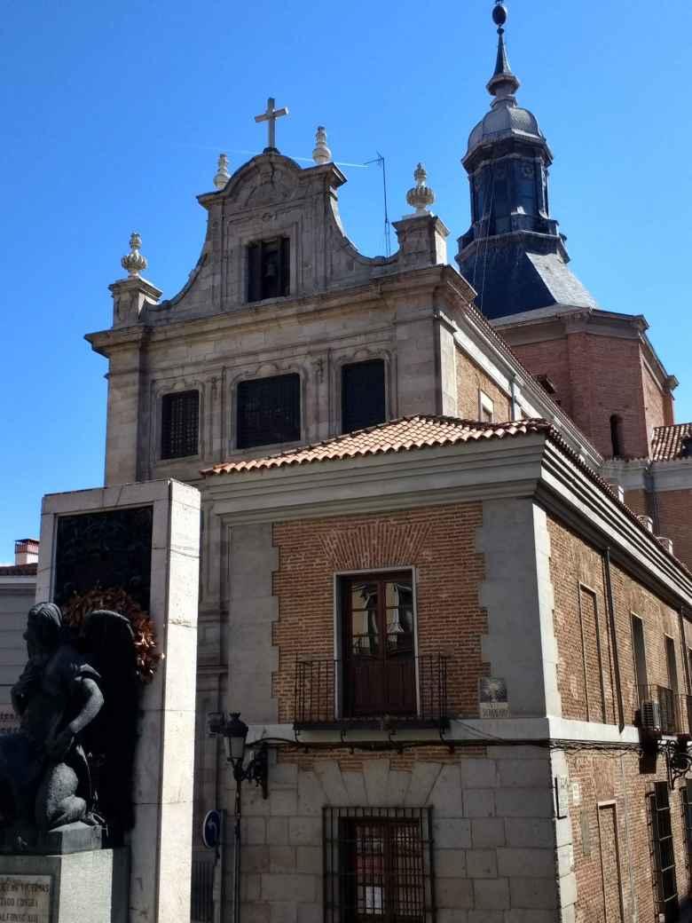 Iglesia Catedral Castrense in Barrio Palacio, Madrid, Spain.