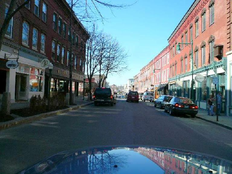 Downtown Richland, Maine looked nice.