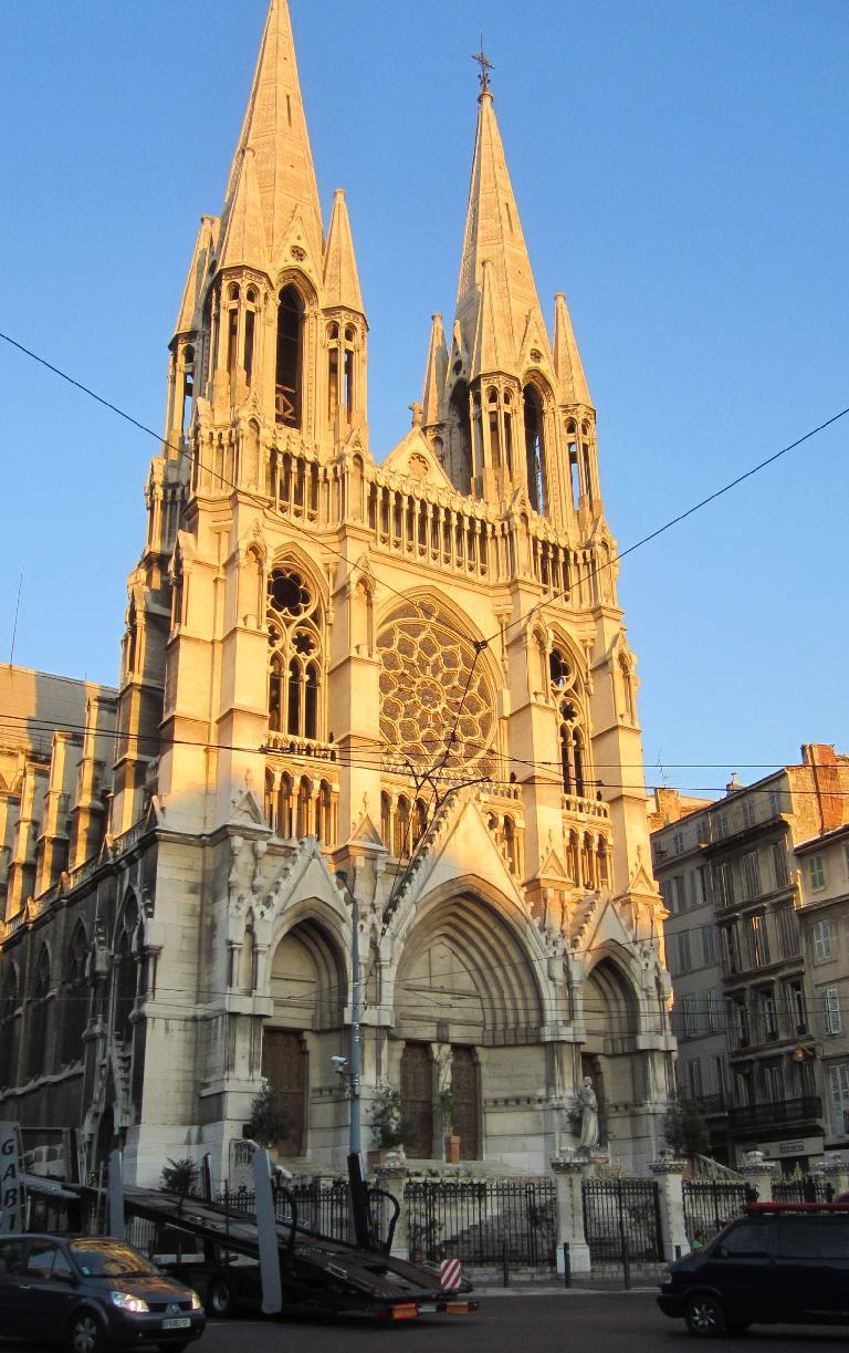 The Notre Dame du Mont.