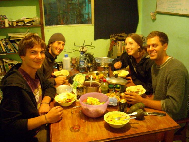 The Maya Pedal dining room.