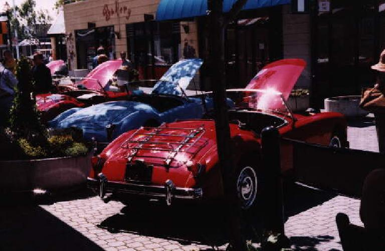 Some purrrrty examples of the MGA,a car I think I would like to ownand restore some day.