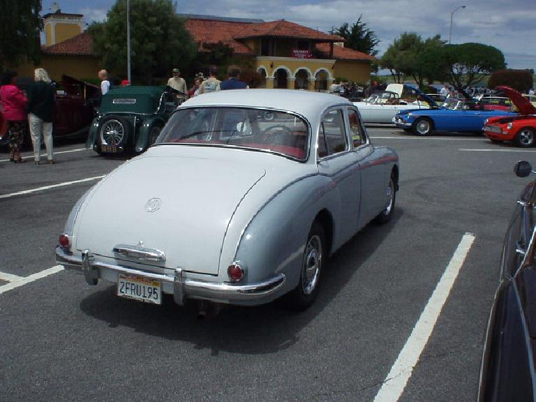 This is Mike Jacobsen's very nice 1958 ZB Var.  He also had his blue MGA roadster at the show.