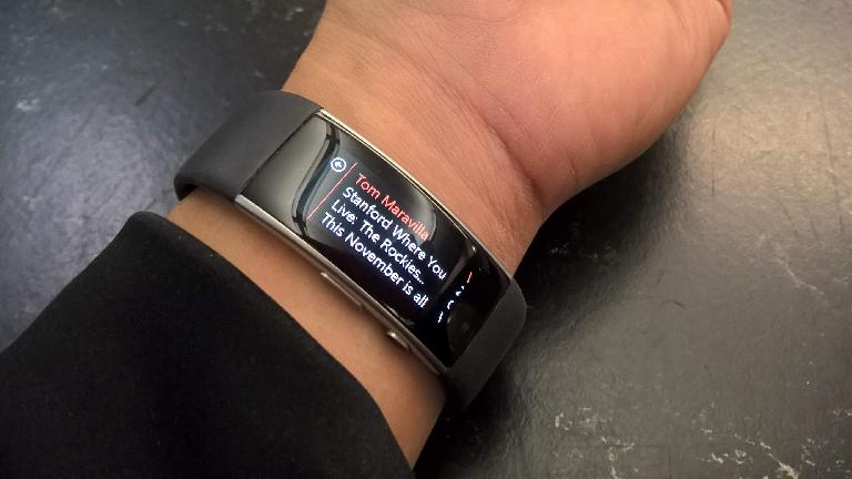 Microsoft Band 2, email nofication