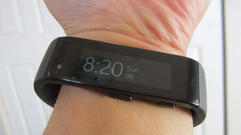 The Microsoft Band is a comfortable, high quality fitness band. (November 9, 2014)