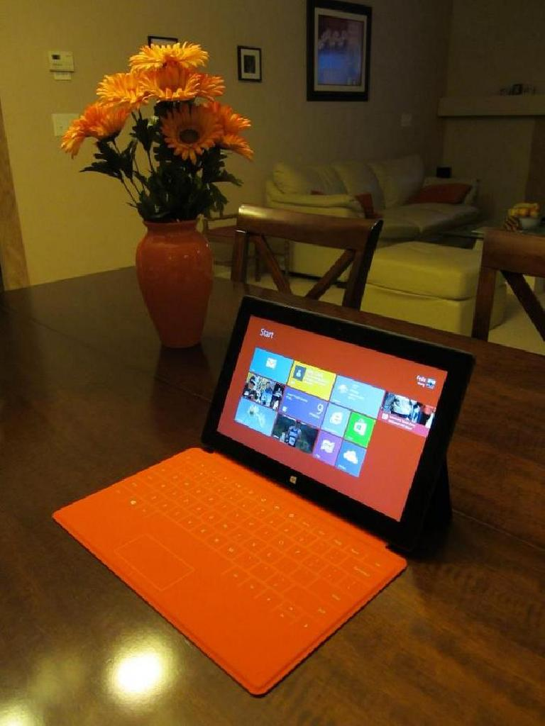 The greatest computing device I have owned to date: the Microsoft Surface RT.