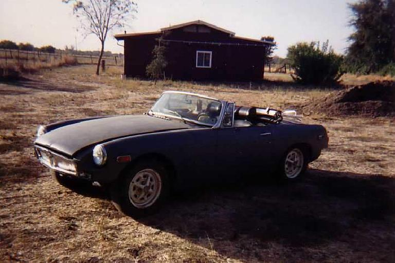 My 1974 MGB project car.