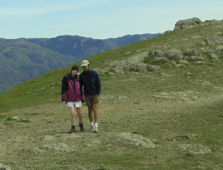 Kathleen and Doug did a little exploring! Photo: Adrian Mikolajczak.
