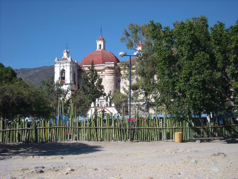 The Church of San Pedro.