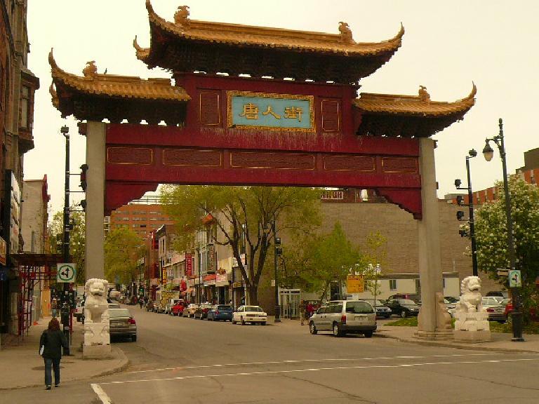 Le Quartier Chinois (Chinatown).