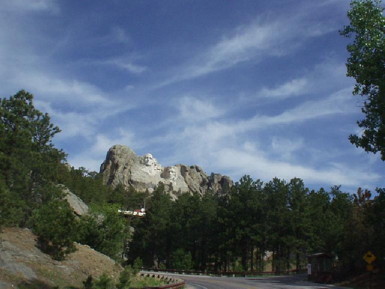 Another view of Mt. Rushmore.