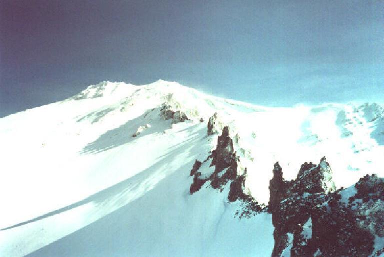 Casaval Ridge. (March 25, 2001)