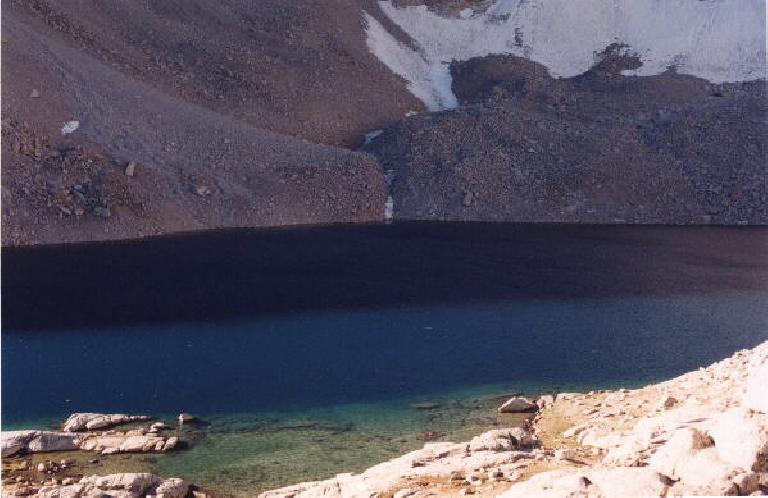 Consultation Lake: halfway up!