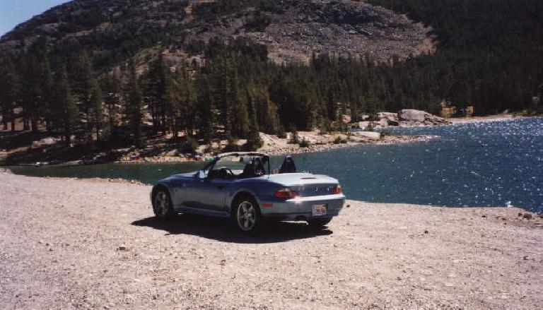 After making it down Mt. Whitney okay, I got to go back through Yosemite in my Z3. (September 4, 2000)