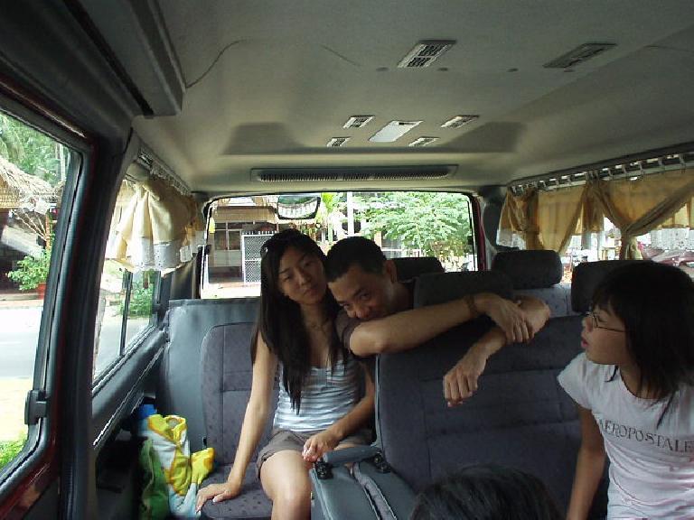 Kim, Nam, and Vy all set to go back to Saigon.