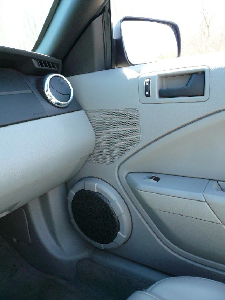 "This car had a Shaker 500 stereo system, replete with ~10"" woofers in the doors."